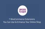 7 WooCommerce Extensions Which You Can Use to Enhance Your Online Shop